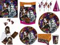 Plastik Tischdecke Monster High Halloween