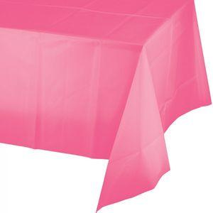 30 Meter Rolle Plastik Tischdecke Bonbon Rosa – Bild 2