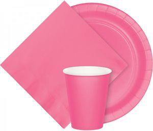 30 Meter Rolle Plastik Tischdecke Bonbon Rosa – Bild 3