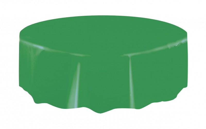 runde plastik tischdecke gras gr n. Black Bedroom Furniture Sets. Home Design Ideas
