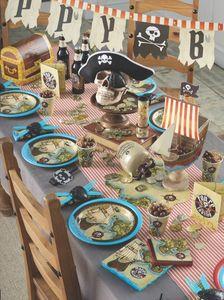 16 Servietten Piraten Paradies – Bild 3