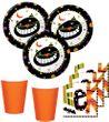 34 Teile kleines Fingerfood Halloween Deko Set Grinse Katze 8 Kinder