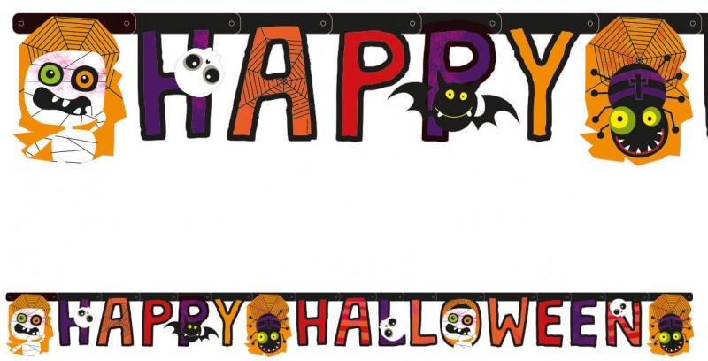 Happy halloween girlande halloween kids - Halloween girlande ...