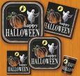20 Halloween Servietten Kürbis Geister