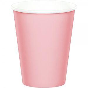 52 Teile Party Deko Set Pastell Rosa für 16 Personen – Bild 3