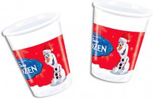8 Becher Frozen Eiskönigin Olaf Weihnachten