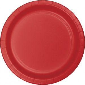 52 Teile Party Deko Set Klassisch Rot für 16 Personen – Bild 2