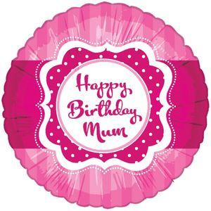 Folien Ballon Perfectly Pink Birthday Mum