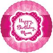 Folien Ballon Perfectly Pink Birthday Mum