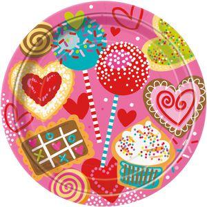 8 Teller Valentine Sweets