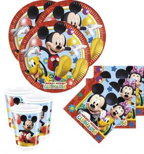 XXL 71 Teile Disney Micky Maus Party Deko Set – Bild 2