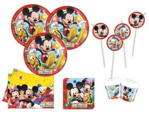 XXL 71 Teile Disney Micky Maus Party Deko Set – Bild 1