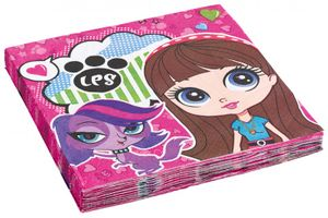 20 Servietten Littlest Pet Shop – Bild 1