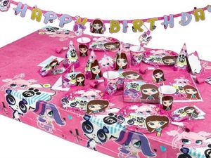 6 Party Hütchen Littlest Pet Shop – Bild 2