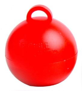 Ballongewicht Bubble Rot