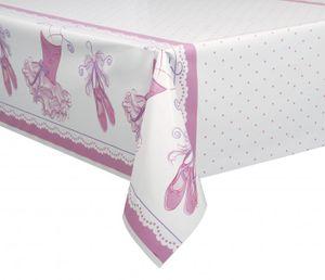 Tischdecke Pink Ballerina