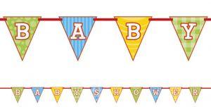Wimpel Banner Noah's Arche Babyshower