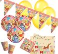48 Teile Disney Winnie Puuh Party Deko Set für 8 Kinder