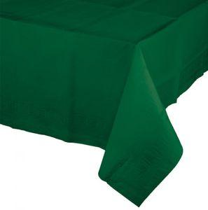 Papier Tischdecke Dunkel Grün