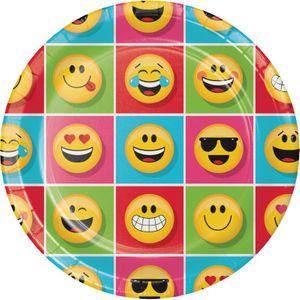 48 Teile Smiley Emoticons Basis Party Deko Set für 16 Personen – Bild 2