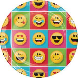 32 Teile Smiley Emoticons Basis Party Deko Set für 8 Personen – Bild 2