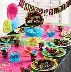 Tischaufsteller Knicklicht Neon Raver Party – Bild 2