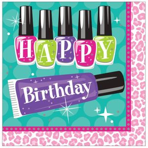 32 Teile Beauty Makeup Spa Topmodel Basis Party Deko Set für 8 Personen – Bild 3