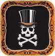 8 Papp Teller Halloween Gentleman