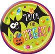 8 Pappteller Halloween Sweets - Süßes oder Saures