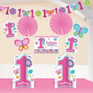 10 Teile Raum Dekorations Set Erster Geburtstag Sweet Girl
