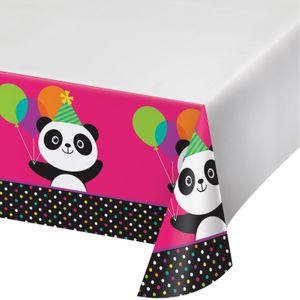 Tischdecke Pink Panda Bär