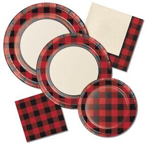 Plastik Tischdecke Schotten Karo – Bild 2