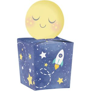 8 kleine Geschenk Boxen I love you to the Moon and Back