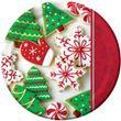 8 Teller Weihnachtsplätzchen