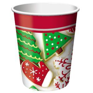 8 Becher Weihnachtsplätzchen