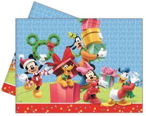 Tischdecke Micky + Minnie Weihnacht