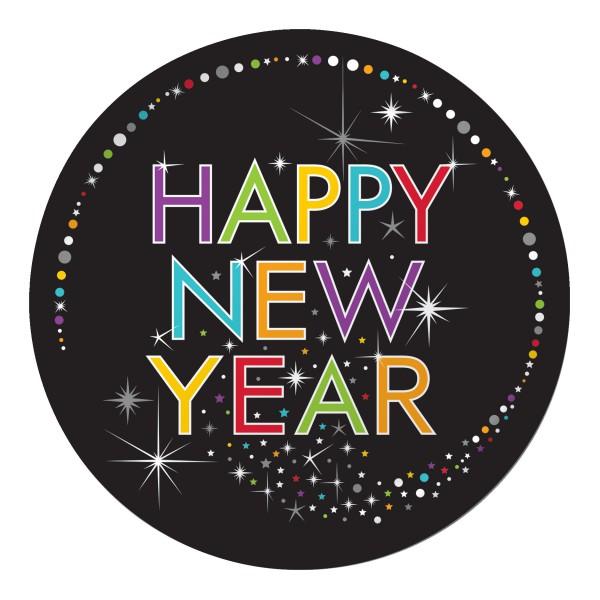 32 teile silvester und neujahrs party deko set 8 personen happy new year. Black Bedroom Furniture Sets. Home Design Ideas