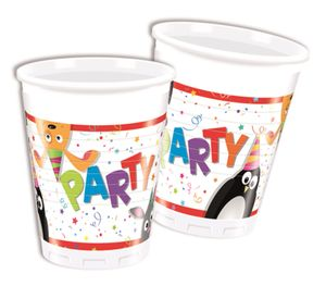 8 Becher Party Friends – Bild 1