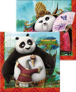 20 Servietten Kung Fu Panda – Bild 1