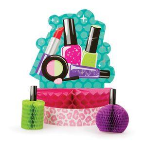 108 Teile Beauty Spa Topmodel Party Deko Set für 8 Personen – Bild 3