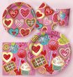 Wimpel Banner Valentine Sweets