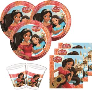 52 Teile Disney Princess Elena von Avalor Party Deko Set für 16 Kinder