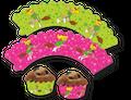 12 Muffin Wraps Bibi Blocksberg
