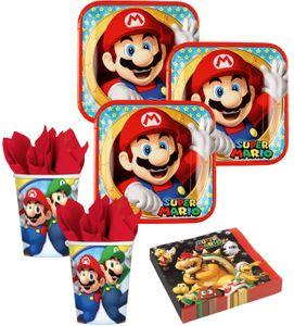 8 Papp Becher Super Mario – Bild 2