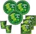 8 Becher St. Patricks Day grüner Hut