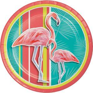 8 Teller Flamingo Island – Bild 1