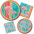5 hängende Girlanden Flamingo Island