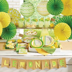 16 kleine Servietten Limonaden Party – Bild 3
