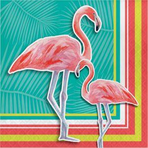 32 Teile Flamingo Island Party Deko Set Sommer Party 8 Personen – Bild 4