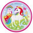 36 Teile Regenbogen Einhorn Party Deko Set für 8 Kinder
